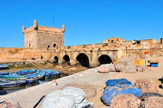 alte Hafenfestung Essaouira Marokko