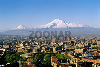 View of the majestic Mount Ararat
