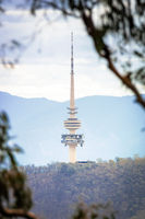 Canberra radio tower