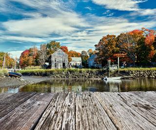Fall at Essex, Massachusetts, USA.