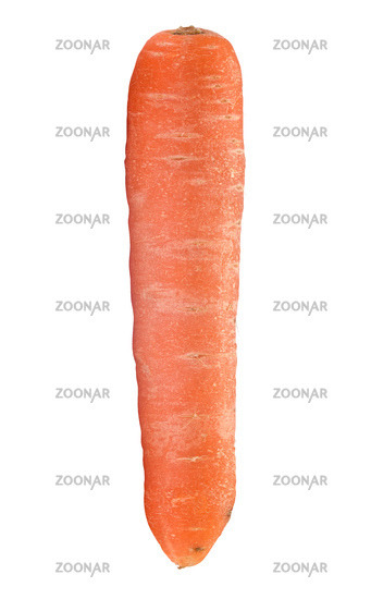 Isolated Organic Carrot