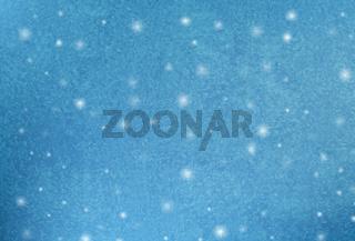 Frozen window Christmas background. Vector