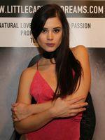 Czech erotic model Little Caprice at the 21rd erotic fair Venus 2017 Berlin
