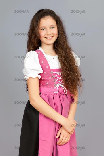 traditional bavarian girl