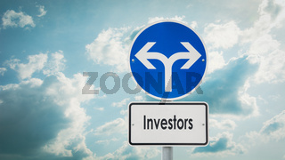 Street Sign to Investors