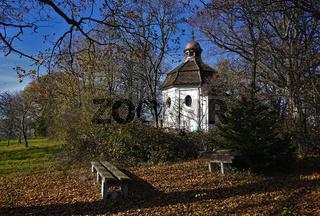 Josefskapelle auf dem Eichberg bei Geislingen-Erlaheim, Baden-Württemberg, Deutschland