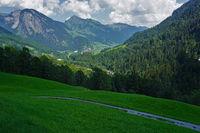 Bregenzer Forest, Austria, alpine landscape, alpine village au