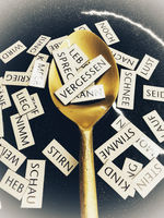 forget the word on a spoon in the middle