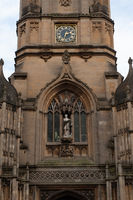 Tom Tower is a bell tower in Oxford, England
