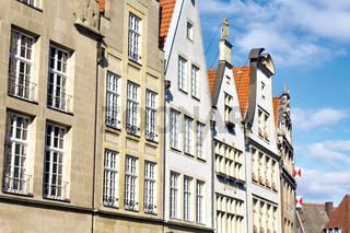 Historische Giebelhäuser am Prinzipalmarkt, Münster