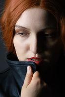 sad woman thinker