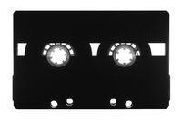 Vintage retro audio cassette. Analog music, entertainment and hipster concept.