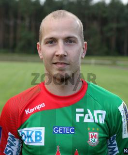 österreichischer Handballspieler Robert Weber Saison 2014/15 SC Magdeburg,Nationalspieler Österreich