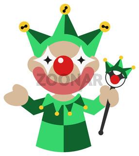 Clown Green