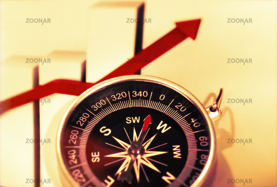 Compass and profit on the stock market