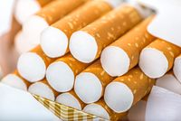 Cigarettes close up