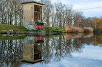 Saale Leipzig Canal Local recreation Leipzig environs