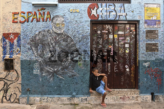 Street life in Havanna