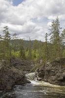 Fluß Etna in Oppland