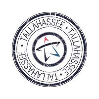City of Tallahassee, Florida vector stamp
