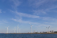 Wind power plants and industry in Copenhagen