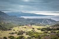 Panorama coast Sardinia,  Italy