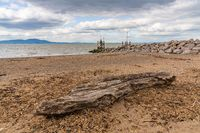 The West Beach in Silloth, Cumbria, England