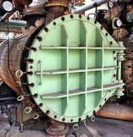 Industrial Boiler at an Abandoned Factory
