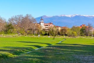 Spring in Bansko, Bulgaria