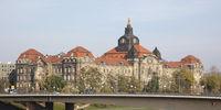 Saxony state Parliament, Dresden, Saxony, Germany, Europe