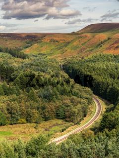 North York Moors landscape, England, UK
