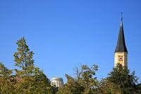 Kelheim ist eine Stadt in Bayern mit vielen historischen Sehenswürdigkeiten