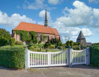 Witzwort,Marienkirche,Nordfriesland,SH,Deutschland