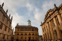 The Sheldonian Theatre, Broad Street, Oxford University, England