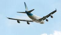 747 im Flug