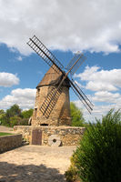Windmill Castelnaudary in the French Aude