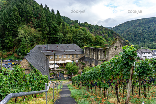 An old Monastry in the Ahr valley in Germany