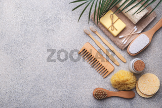 Zero waste reusable bathroom items