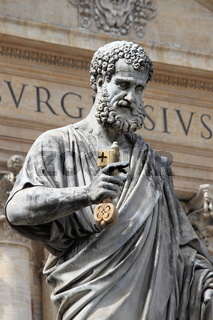 Statue of Saint Peter the Apostle in Vatican City State