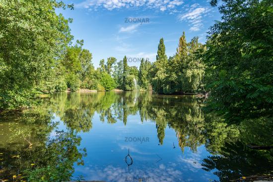 Park in Oberhausen, North Rhine-Westfalia, Germany