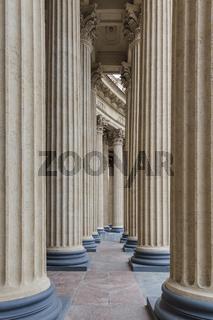 Kazan cathedral colonnad - Saint-Petersburg Russia