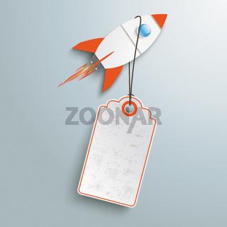 Price Sticker Angebot Rocket PiAd