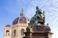 Monument of Empress Maria Theresia in front of Art History Museum in Vienna