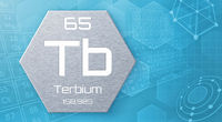 Chemical element of the periodic table - Terbium