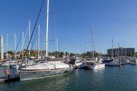 Townsville Sailboat Harbour in Queensland, Australia
