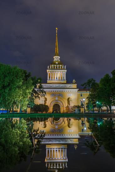 Admiralty building - St. Petersburg Russia