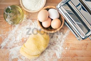 raw dough