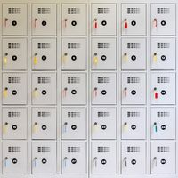 30 lockers with keys