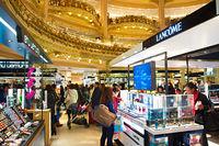 Lafayette luxury mall, Paris