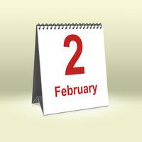 February 2nd | 2. Februar